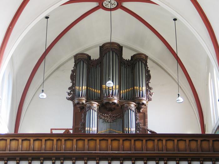 Orgel op het koor